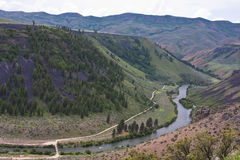 Canyon del fiume di serpente, Idaho Immagine Stock