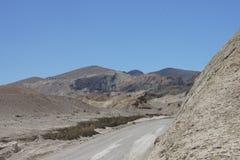 Canyon del gruppo di venti muli, Death Valley fotografia stock