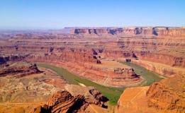 Canyon del punto del cavallo guasto Fotografia Stock Libera da Diritti