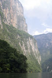 Canyon del Sumidero Royalty Free Stock Image