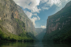 Canyon del Sumidero (Mexico) Royalty Free Stock Photography