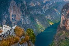 Canyon del Sumidero National Park Royalty Free Stock Photography