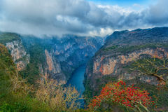 Canyon del Sumidero National Park Stock Images