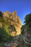 Canyon del Turda Fotografia Stock