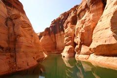 Canyon dell'antilope, canyon della valletta di Powell del lago Fotografia Stock Libera da Diritti