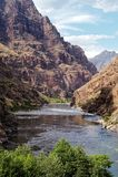 Canyon dell'inferno in estate fotografia stock libera da diritti