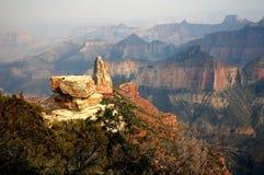 Canyon dell'orlo del nord del â di Hayden del supporto grande Immagini Stock