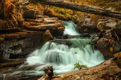 Canyon della cascata, Bulgaria Immagini Stock Libere da Diritti