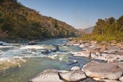Canyon della corrente in Tailandia Immagini Stock