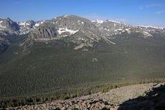 Canyon della foresta fotografia stock libera da diritti