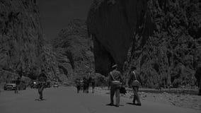 Canyon della gola di Todgha, montagne di atlante immagini stock libere da diritti