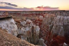 Canyon della miniera di carbone in Arizona fotografia stock libera da diritti