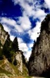 Canyon della montagna Immagine Stock