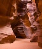 Canyon della scanalatura fotografia stock libera da diritti