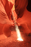 Canyon della scanalatura fotografia stock