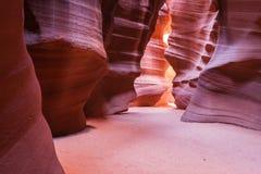 Canyon della scanalatura Fotografie Stock