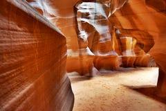 Canyon della scanalatura in Arizona Immagini Stock Libere da Diritti