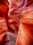 Canyon della scanalatura in Arizona del Nord fotografie stock libere da diritti