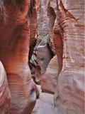 Canyon della scanalatura del passaggio del cavo fotografia stock libera da diritti