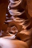 Canyon della scanalatura dell'Arizona Fotografie Stock