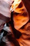Canyon della scanalatura dell'Utah Fotografia Stock
