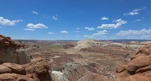Canyon della valle del fungo Fotografia Stock