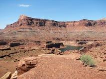 Canyon della valletta   fotografia stock