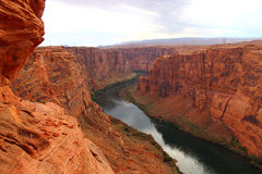 Canyon della valletta immagini stock