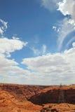 Canyon della valletta Fotografie Stock Libere da Diritti