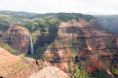 Canyon delle Hawai Waimea Immagine Stock