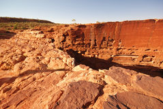 Canyon des Königs Panorama Lizenzfreies Stockbild