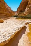 Canyon in Desert Royalty Free Stock Photography