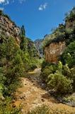 Canyon di Anso, Spagna Fotografie Stock Libere da Diritti