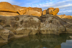 Canyon di 3000 Bok di Ubonratchathani Fotografia Stock