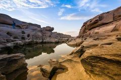 Canyon di 3000-Boke, Tailandia Fotografia Stock Libera da Diritti