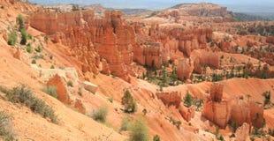 Canyon di Bryce del giardino delle regine Immagini Stock