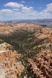 Canyon di Bryce del punto di ispirazione Fotografia Stock Libera da Diritti