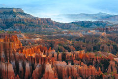 Canyon di Bryce, punto di Bryce Fotografie Stock