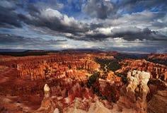 Canyon di Bryce, Utah, S Fotografie Stock Libere da Diritti