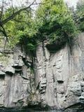 Canyon di Buky - un canyon roccioso sul fiume vicino al villaggio di Gorny Tikich Buki, Ucraina, estate 2016 Fotografia Stock Libera da Diritti