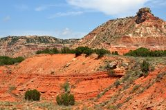 Canyon di Caprock fotografia stock libera da diritti