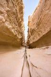 Canyon di Chahkooh sull'isola di Qeshm Fotografia Stock Libera da Diritti