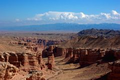 Canyon di Charyn immagine stock