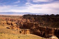 Canyon di Charyn immagine stock libera da diritti