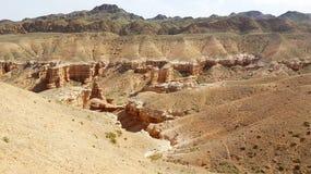 Canyon di Charyn in Kasachstan immagine stock libera da diritti