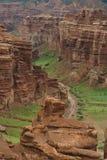 Canyon di Charyn in Kazakhstan fotografia stock