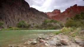 Canyon di Charyn in Kazakhstan stock footage