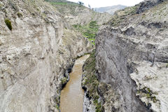 Canyon di Colca Immagine Stock