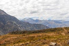 Canyon di Colca, Peru Panorama Immagine Stock