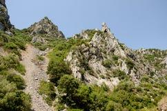 Canyon di Gutturu Cardaxius Fotografie Stock Libere da Diritti